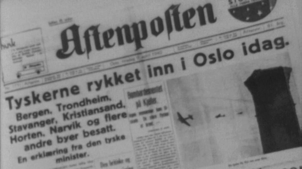 Hva skjedde 9. april 1940?