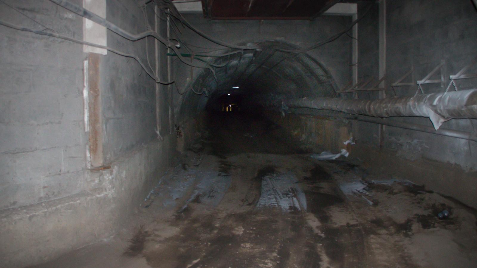 Inngangen til Gruve 7.