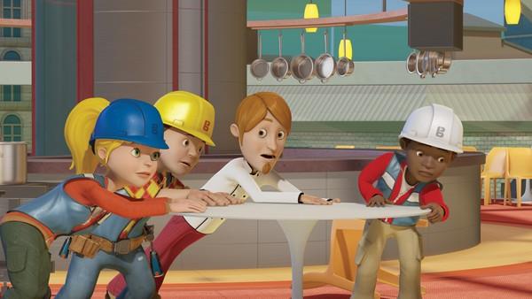 """<span class=""""kicker-title"""">Byggmester Bob:</span>Pus lager trøbbel for Bob og gjengen"""