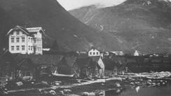 Hotel Alexandra kring 1885