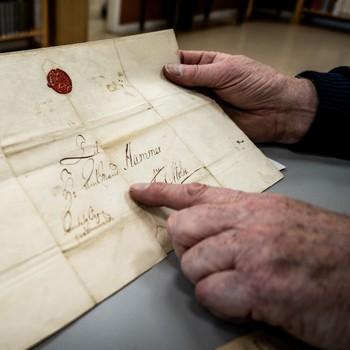 Brevet fra kaptein Meldal