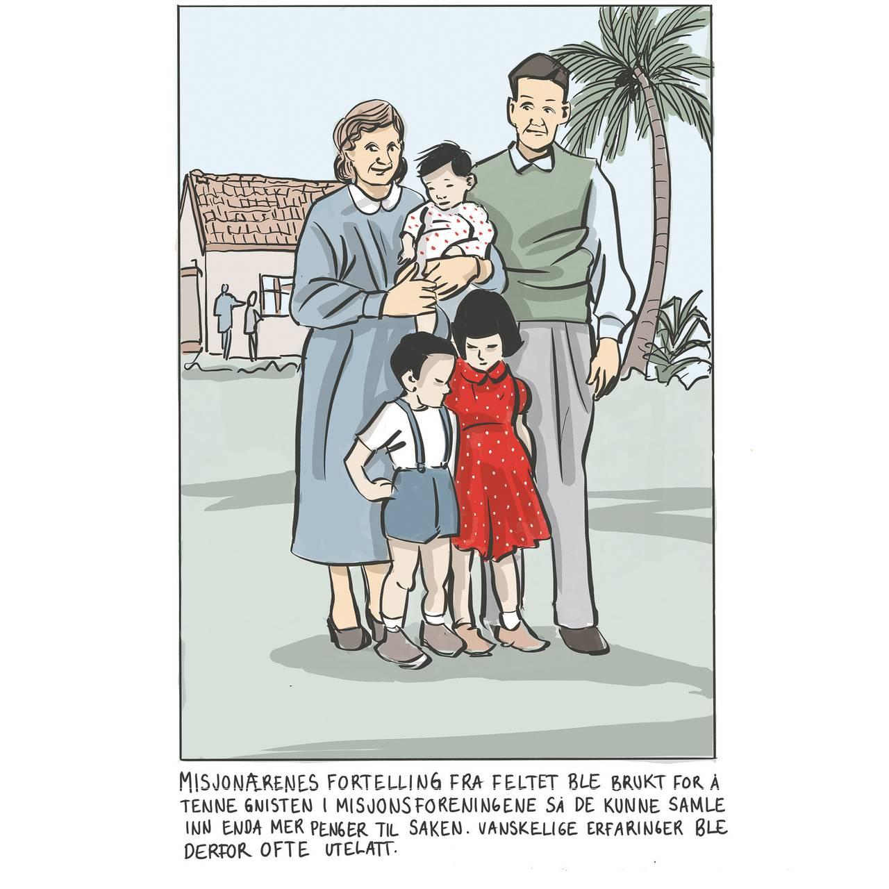 Illustrasjon til tegneserieboken