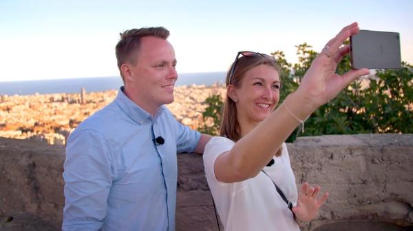 Reiser på ferie med blind date