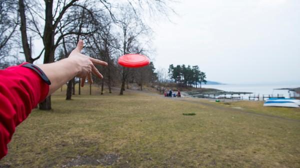 Frisbeegolf - Foto: Sindre Thoresen Lønnes