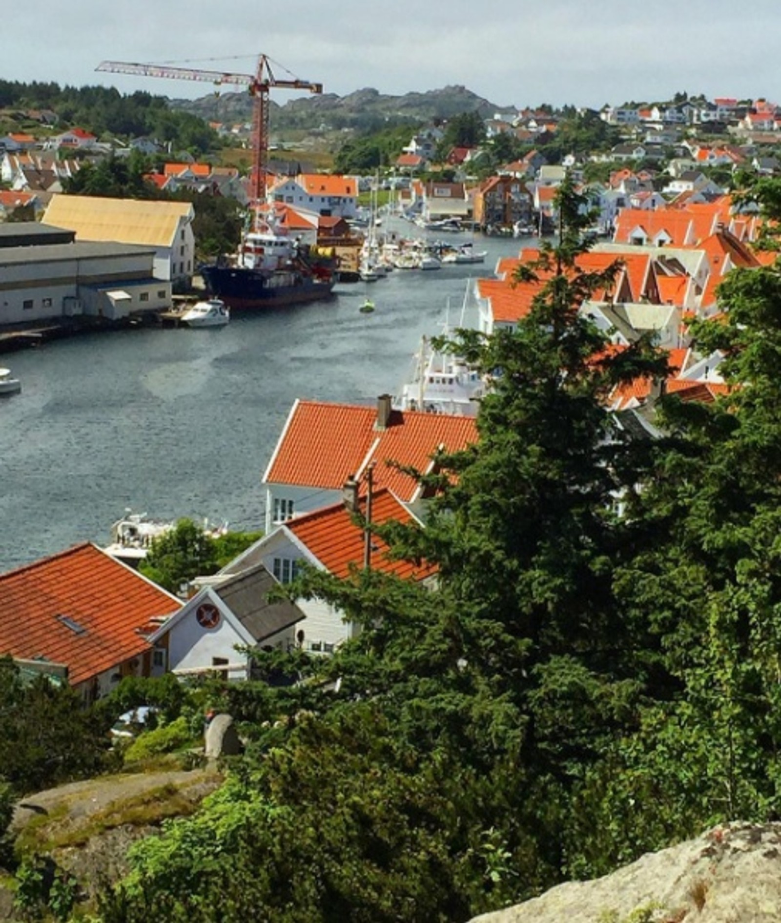 Fra Skudeneshavn i Karmøy kommune.