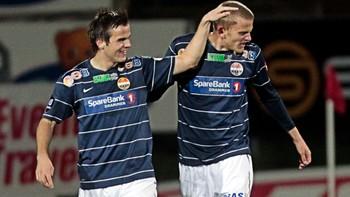 Jim Johansen (t.v.) og Gardar Johansson, Strømsgodset