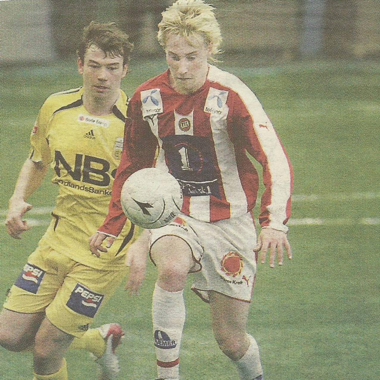 Bjørn Lidin Hansen for TIL mot Bodø/Glimt