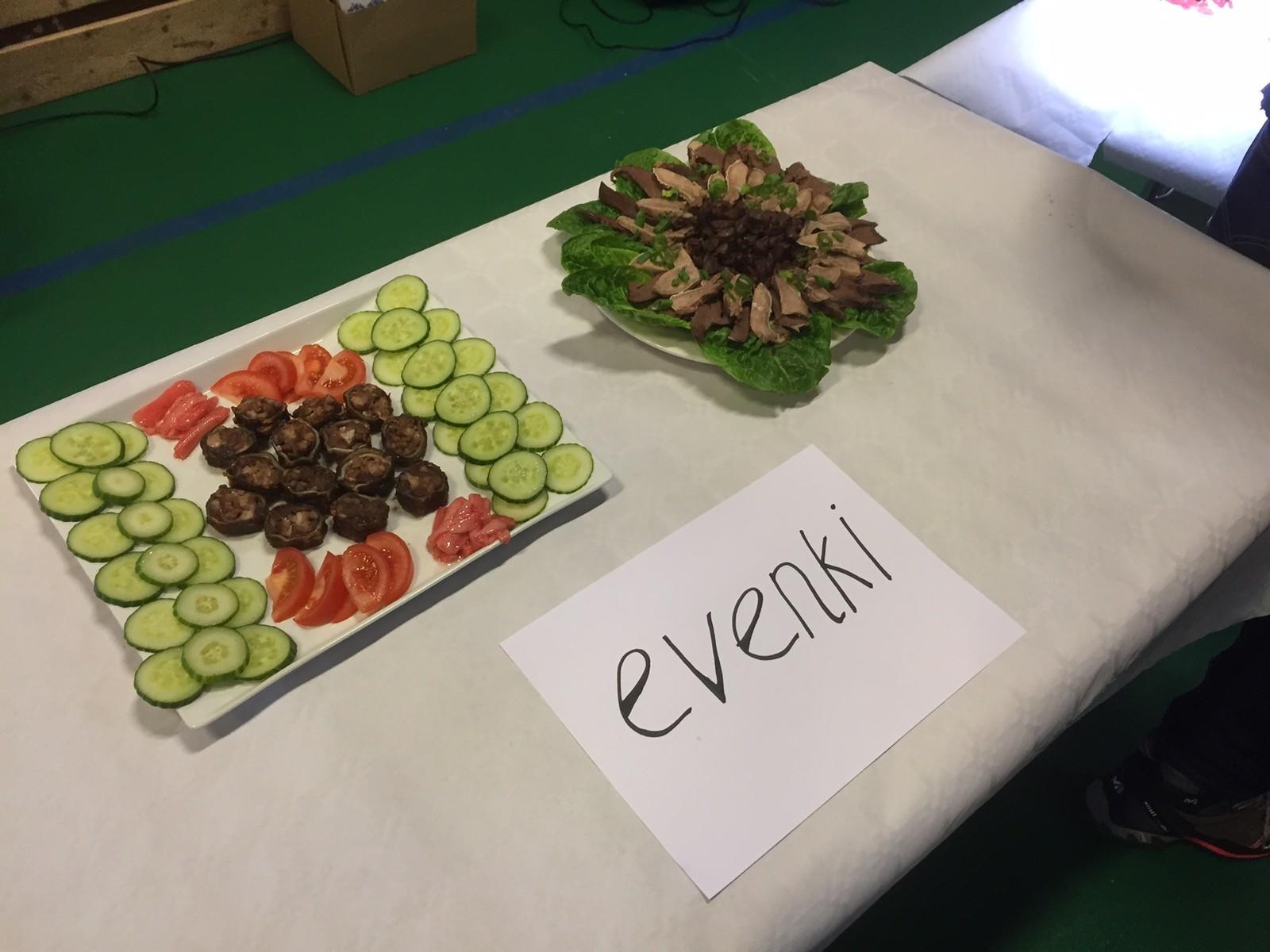 Mat som evenki-folket har laget