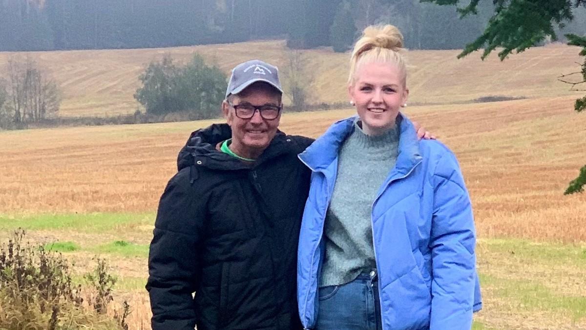 Thea (16) reddet livet til bestefar på elgjakt