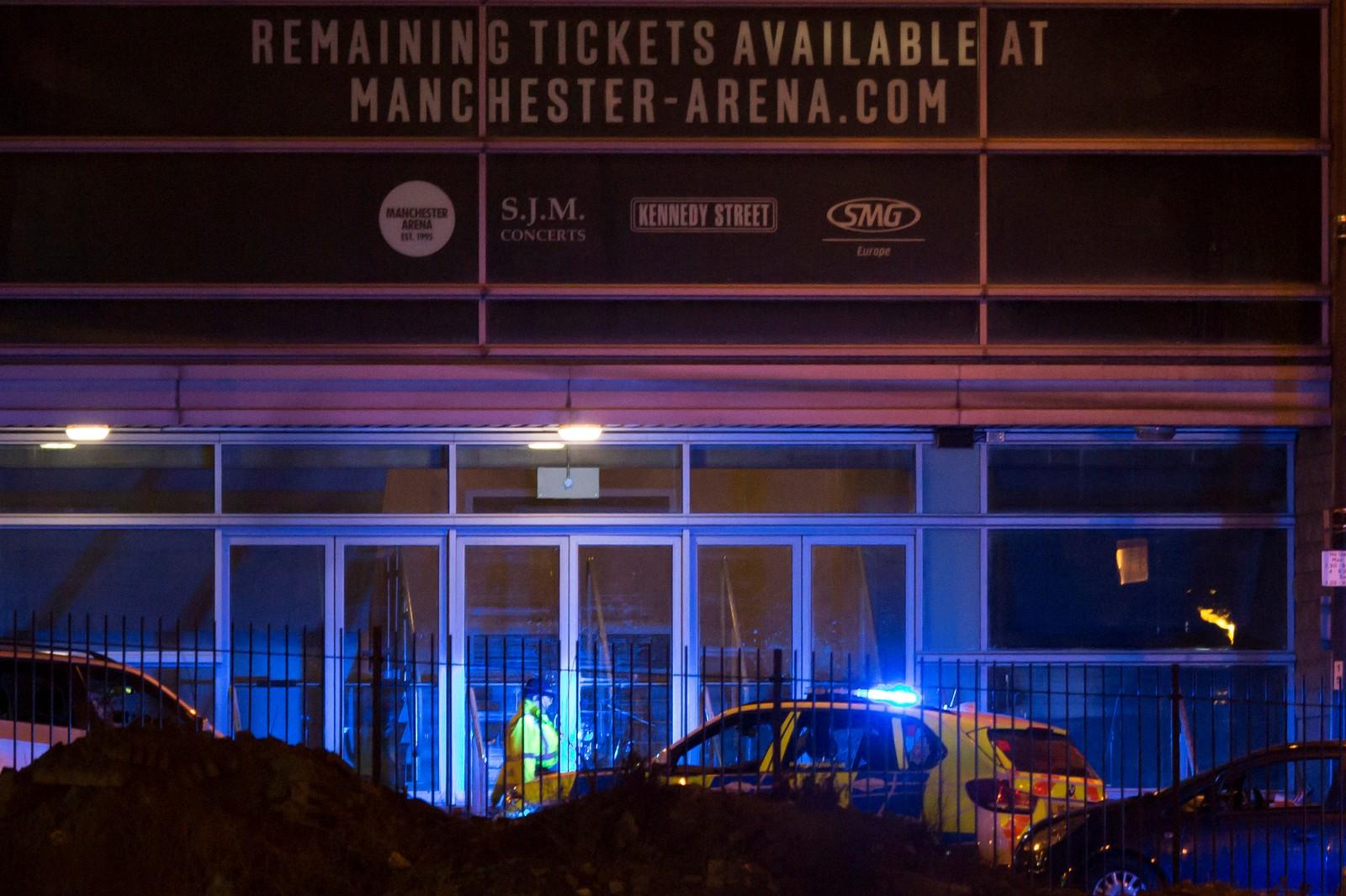 Ifølge arrangørene skal eksplosjonen ha skjedd utenfor arenaen da konserten var ferdig.