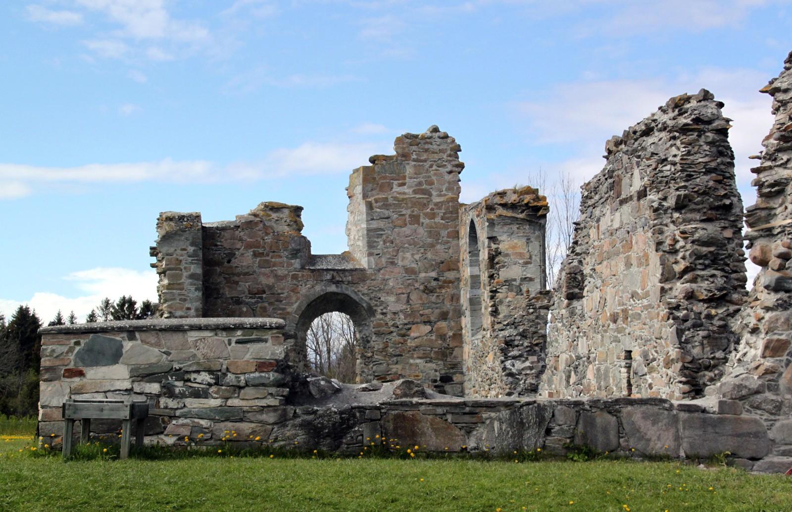 Klosterruinene på Tautra