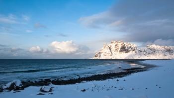 Her på Utakleiv ble Nord-Norges første flaggplytt sett.