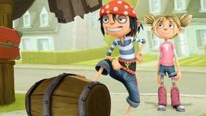 Piratene i gata