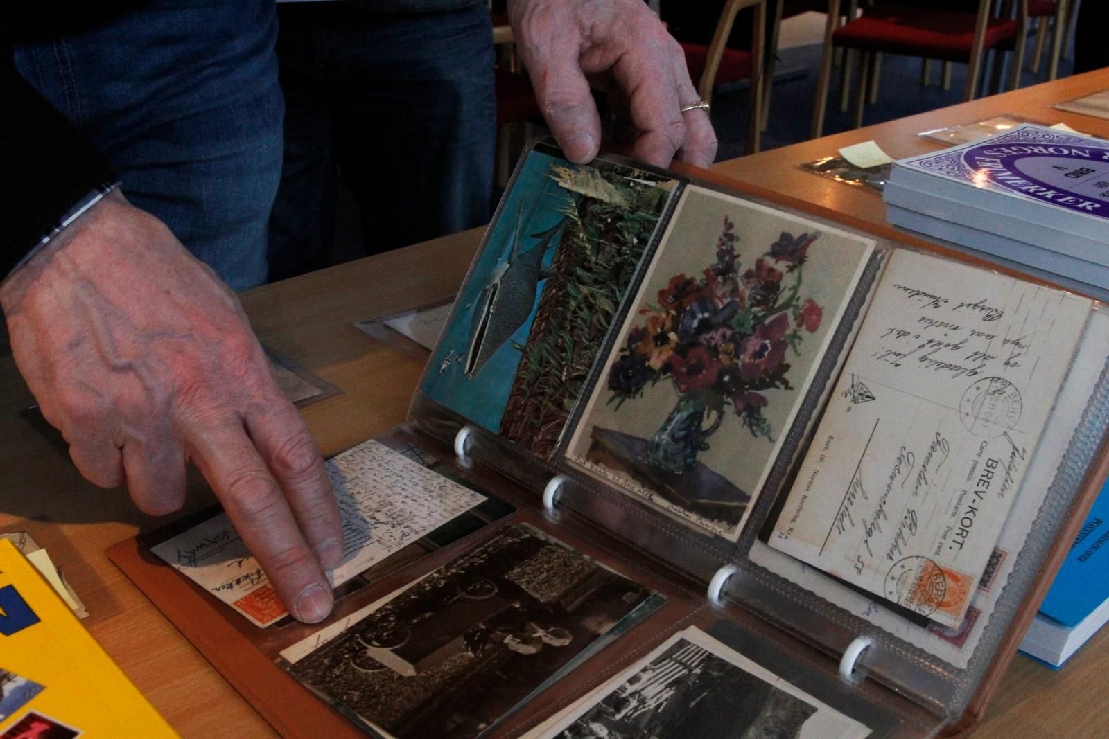 I gamle postkortsamlingar kan det liggje mykje verdifullt. Desse kan vere verdt fleire tusen kroner.