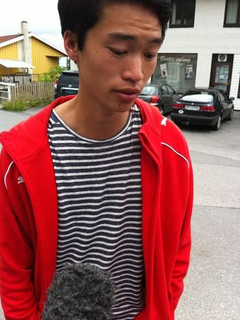 Eirik Inge johansen fra Tromsø , 18 var på Utøya