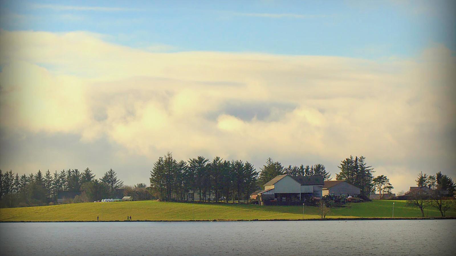 Fra Hålandsvatnet, som ligger mellom Stavanger og Randaberg.