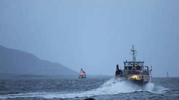 Storm i Florø