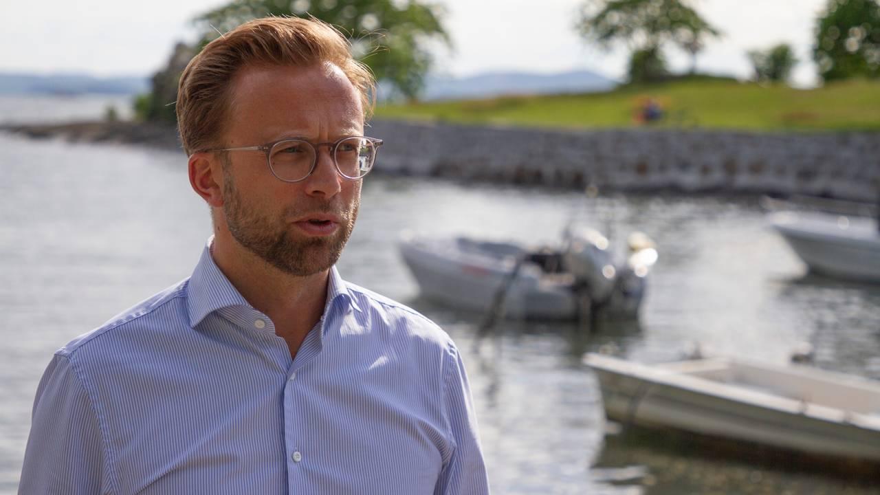 Kommunal- og moderniseringsminister Nikolai Astrup.