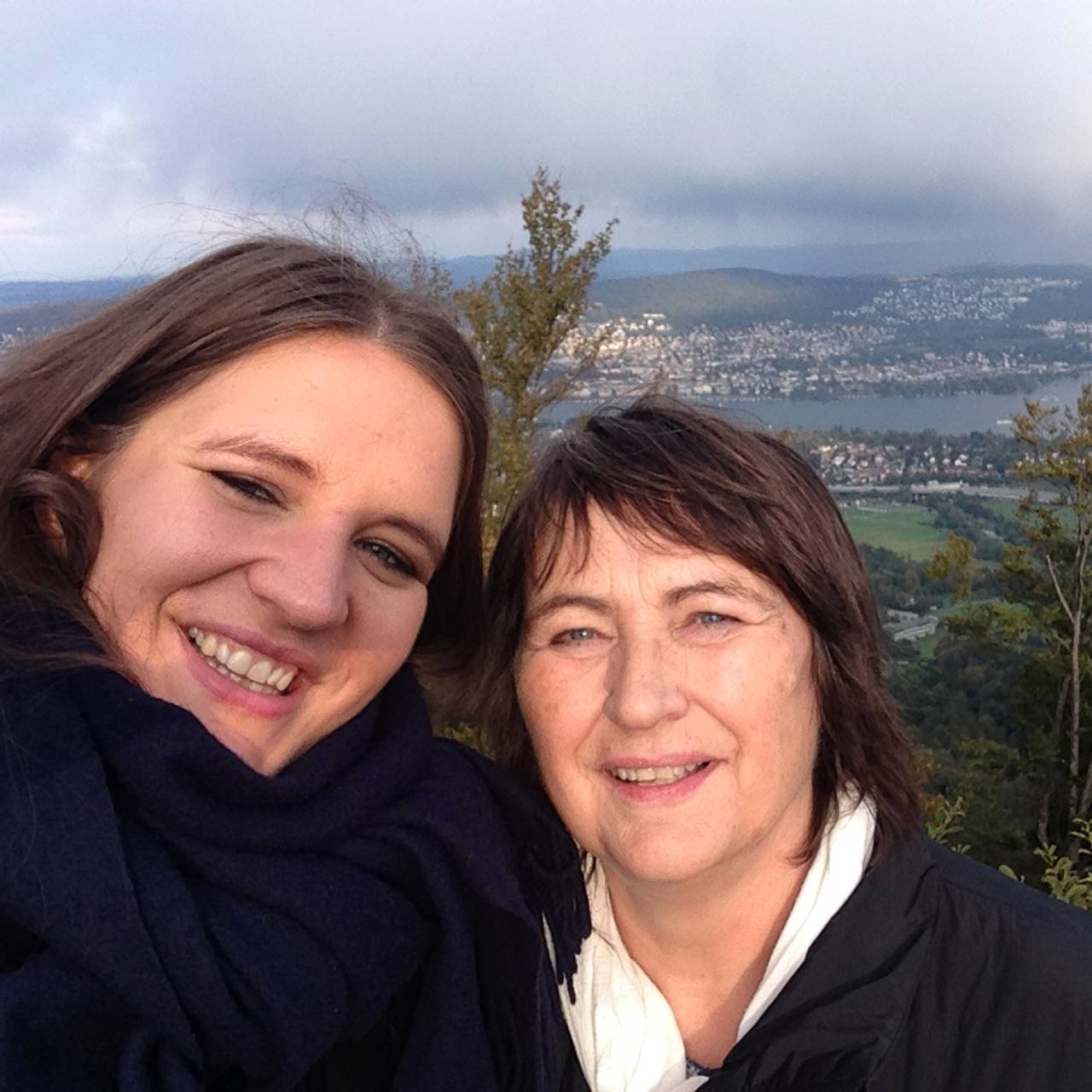 Lise Davidsen (sopran) med mamma Wenche.