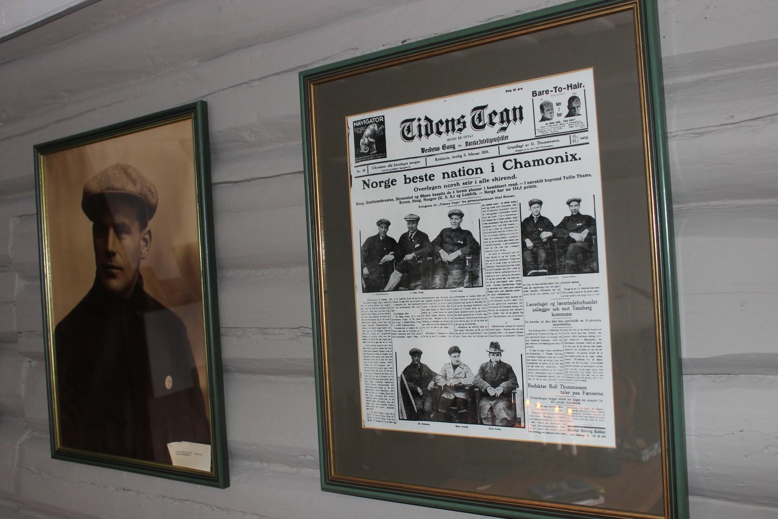 """I """"Tidens Tegn"""", forløperen til VG, kunne man den 5. februar 1924 lese om Norges store bragd i kombinert-rennet i OL i Chamonix. Nordmennene gjorde rent bord, og fire nordmenn sto øverst på resultatlisten. Aller øverst tronet Thorleif Haug. I alt tre gull tok han i de første olympiske vinterlekene."""