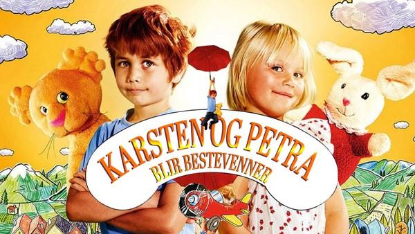 I barnehagen treffer Karsten en jente som heter Petra. Hun er også ny i barnehagen og føler seg - som Karsten - litt utrygg i begynnelsen. Disse to blir bestevenner.  Vi følger Karsten og Petra gjennom et år. Serien bygger på billedbøker skrevet av Tor Åge Bringsværd med tegninger av Anne Holt.