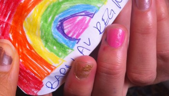 Barn av regnbuen, 26.04.12