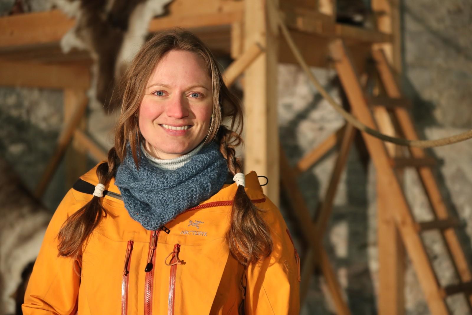 Linn Elise Rølvåg fra Sigerfjord i Nordland er årets vinner av Anno.