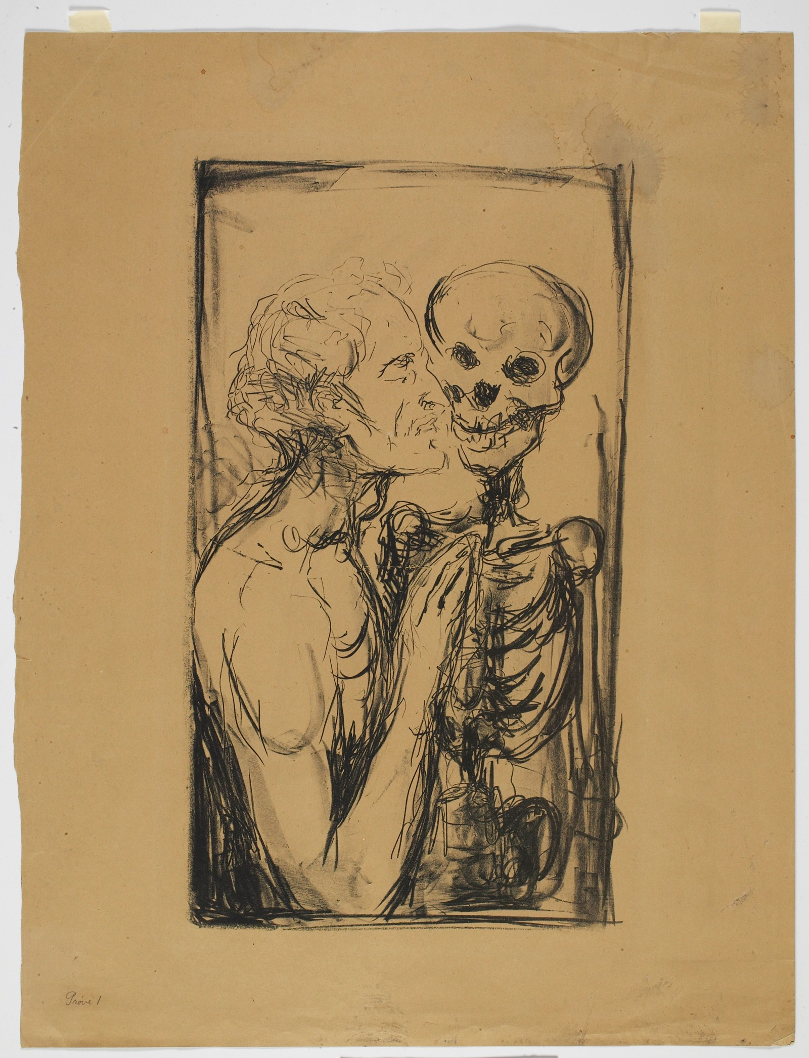 Munch: Dødsdans, 1915