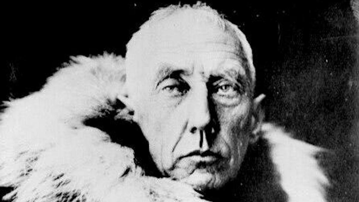 første mann på nordpolen