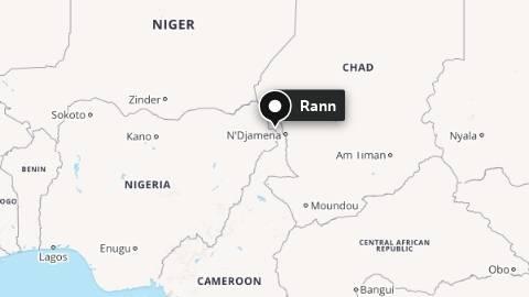 Grenseområdet melllom Nigeria, Tsjad og Niger.