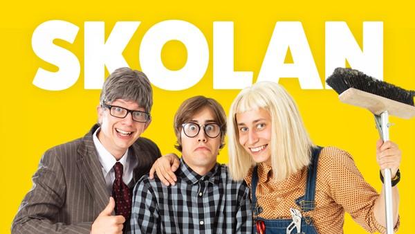 Glem ditt kjedelige hverdagsliv når skolen starter igjen. Her er ingen dag lik. Svensk humorserie.