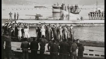 Tysk ubåt ankommer Norge 1942