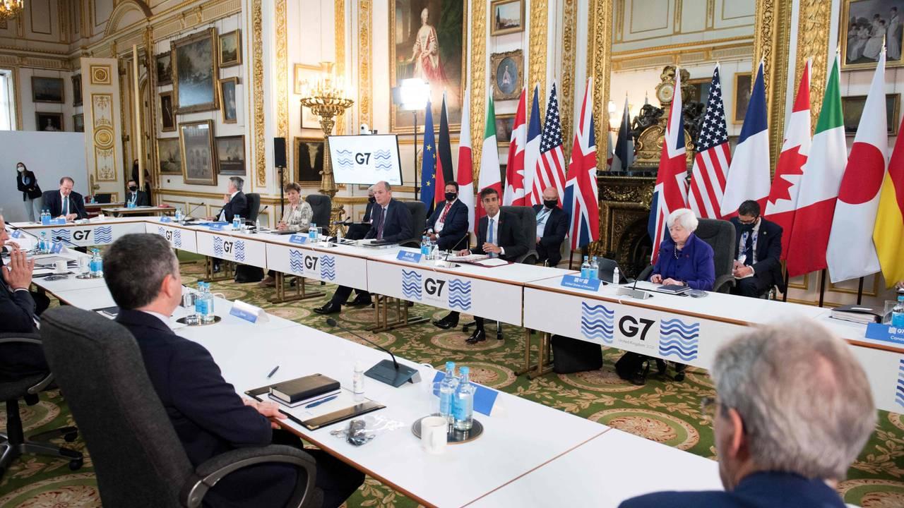 G7s finansministre