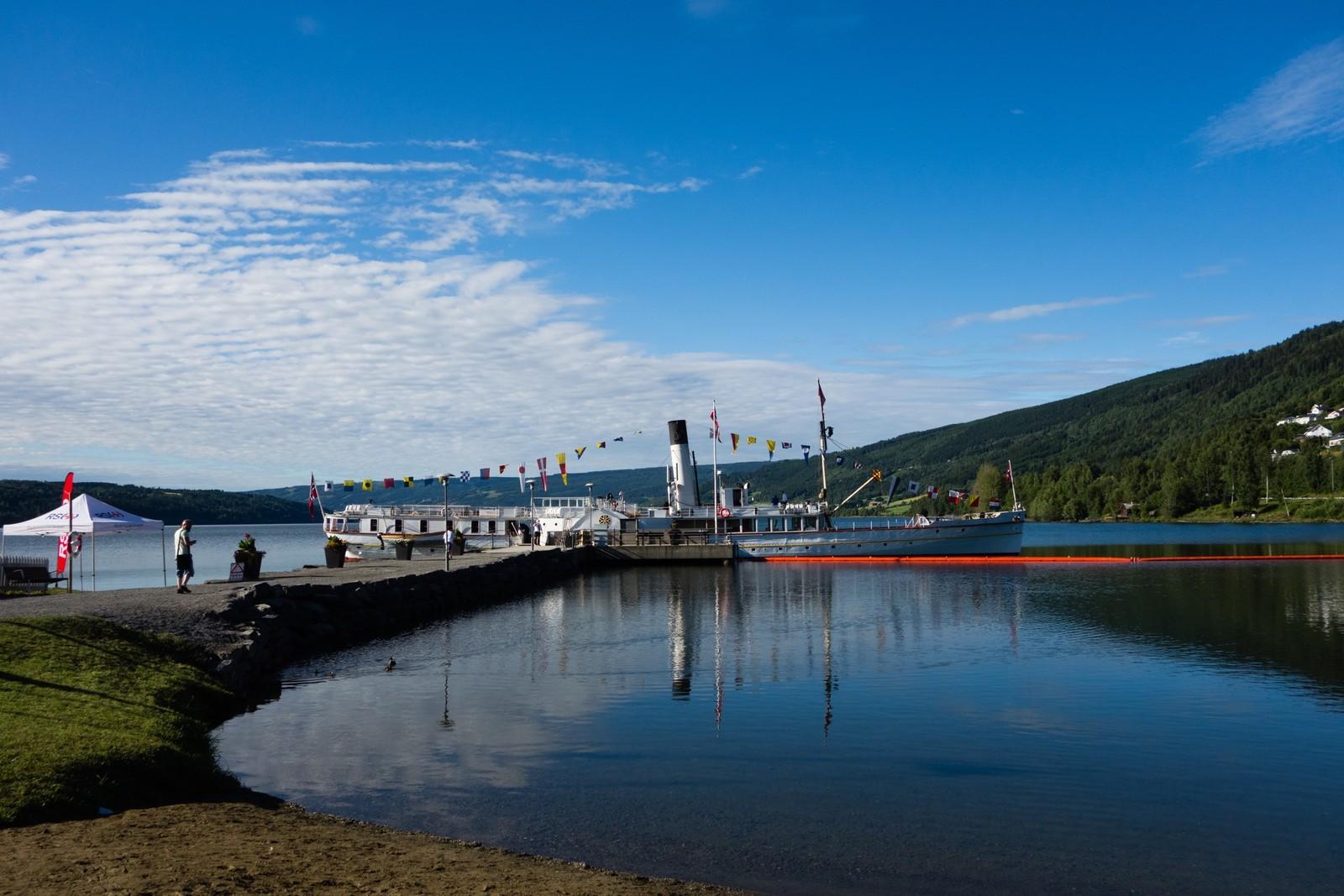 Fredag starta ferden her på Lillehammer, før turen gikk videre til Moelv og Hamar.