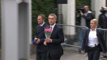 Jens Stoltenberg sa at han har fått et nært og fint forhold til kongen idet han gikk inn til sitt siste statsråd i denne omgang.
