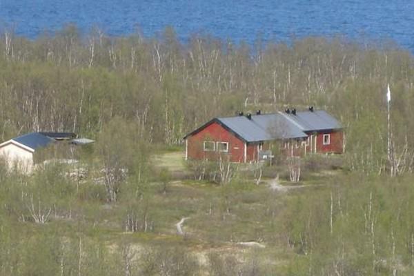 Utsikt fra Bunkerhøyden mot Abiskojaure -  Foto: Svenska Turistföreningen