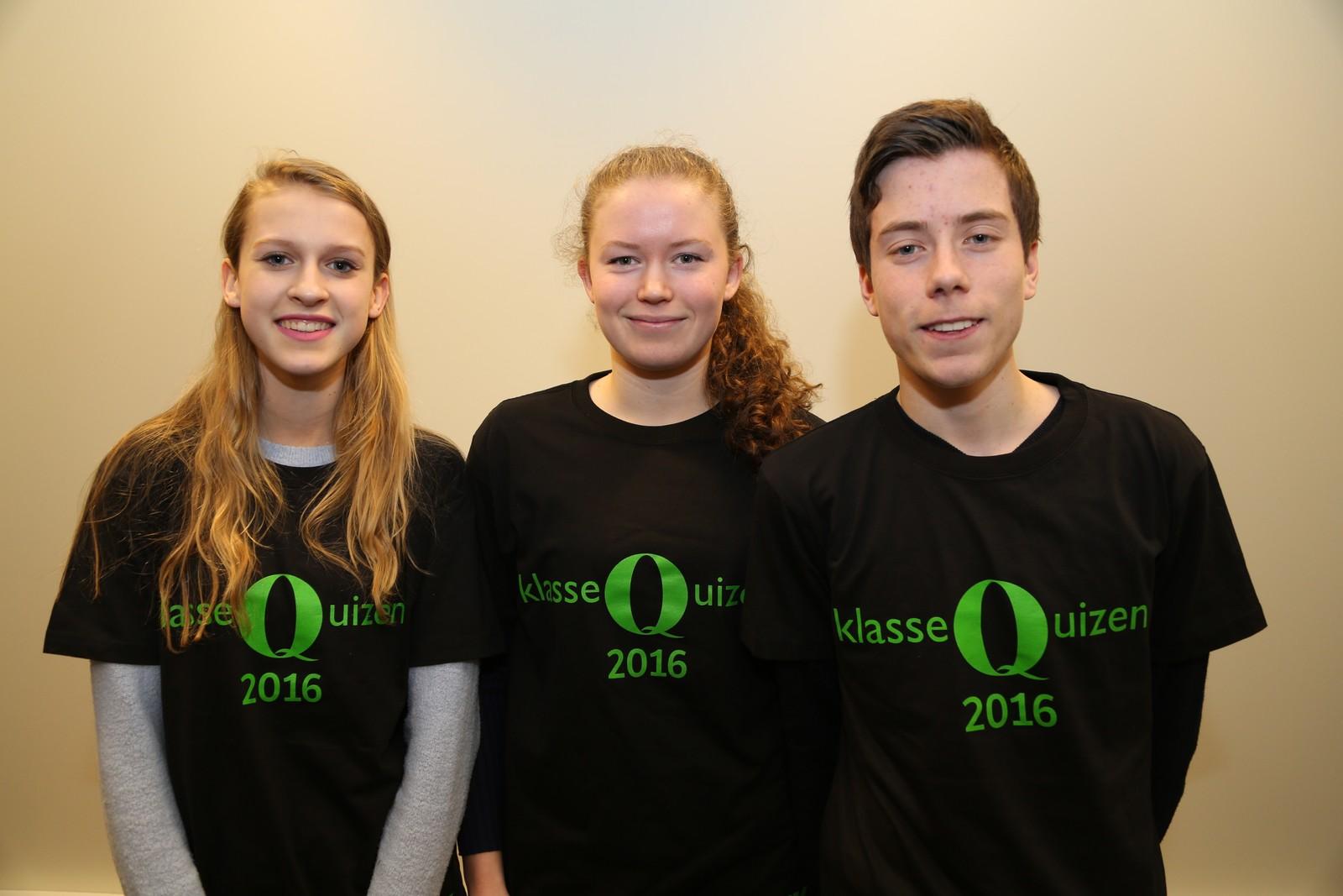 9 POENG: Sola ungdomsskole: Hannah Macfarlane, Ane Wangsholm, Sebastian Kvammen.