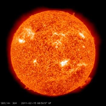 Eksplosjon på sola