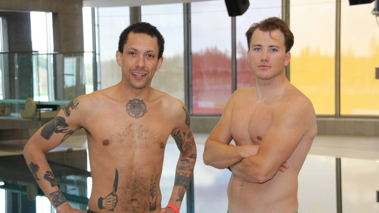 Svømmevenn, Tete Lidbom og Grunde Myhrer