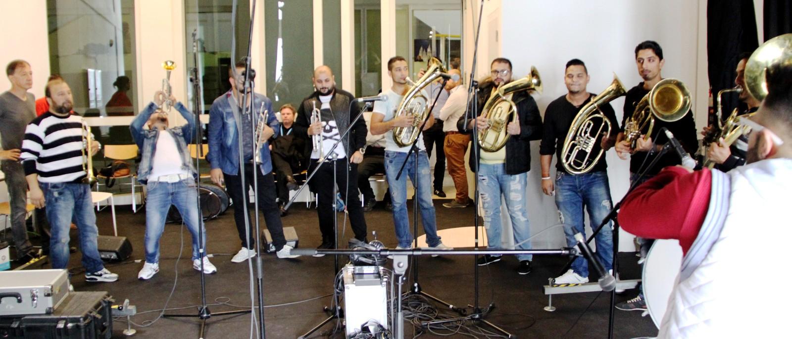 Dzambo Agusev Orchestra på Womex 2014, direkte på Jungeltelegrafen.