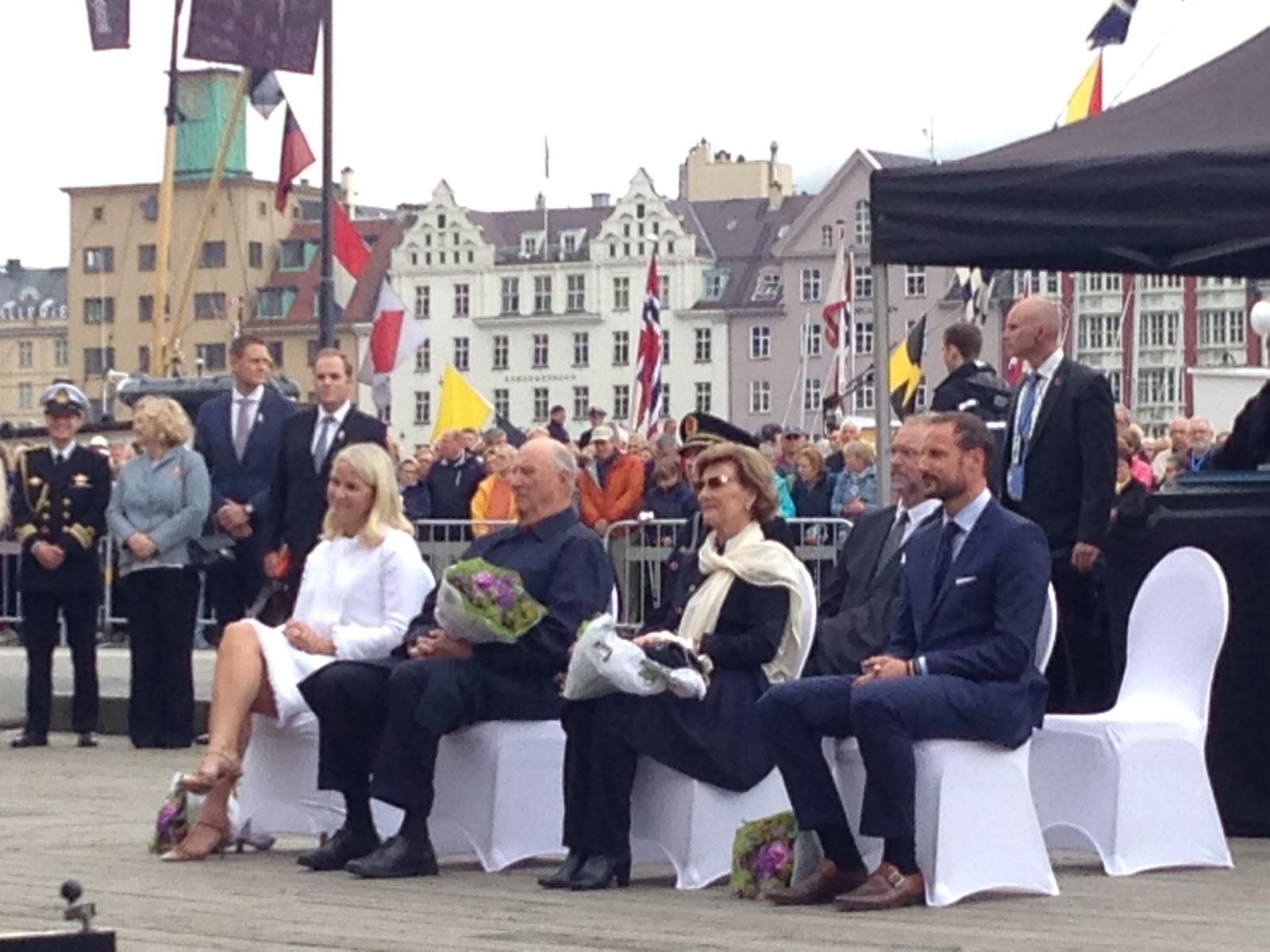 Kongefamilien i Bergen