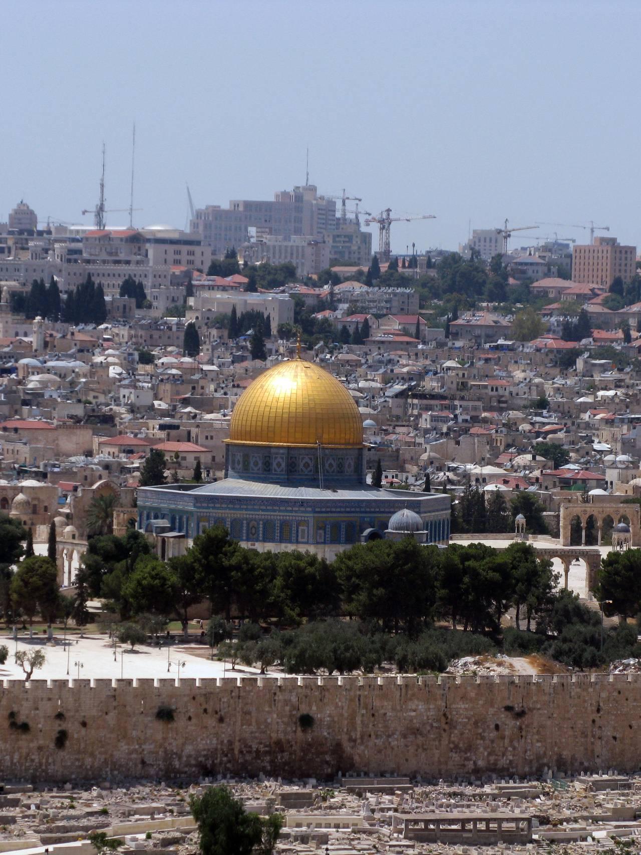 tempelhøyden Jerusalem