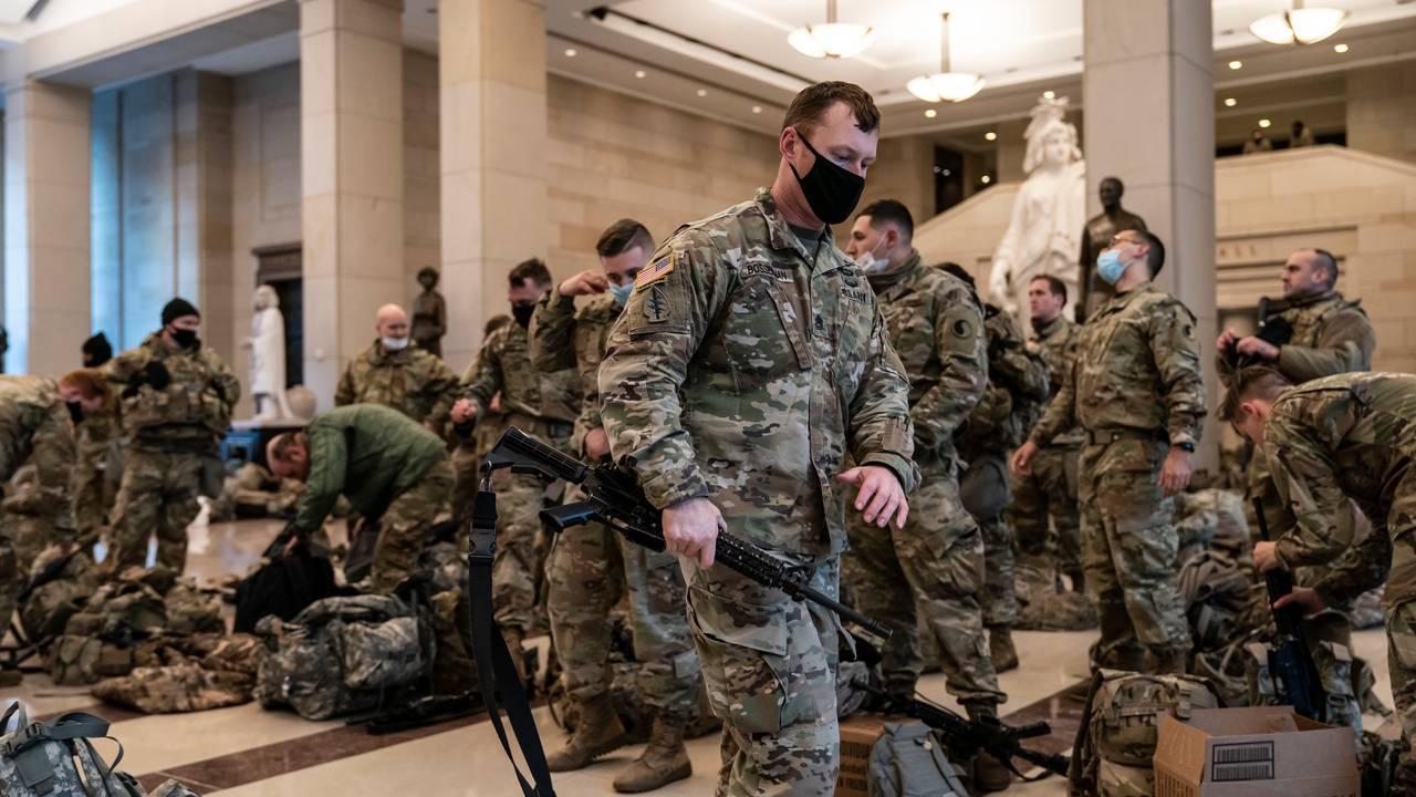 soldater i Kongressen