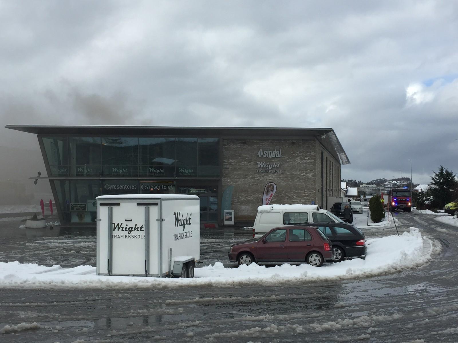 Røykutvikling Breivika