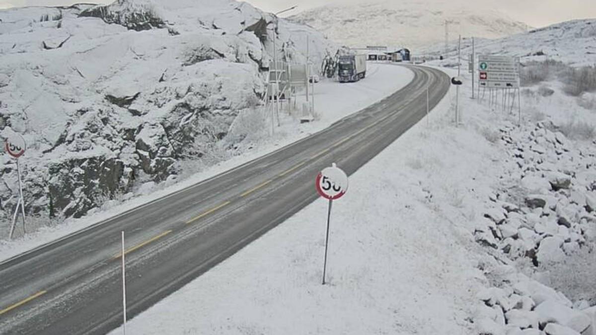 Bjørnfjell E10 ved riksgrensen