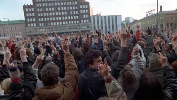 Snudde ryggen til FMI-leder Arne Myrdal