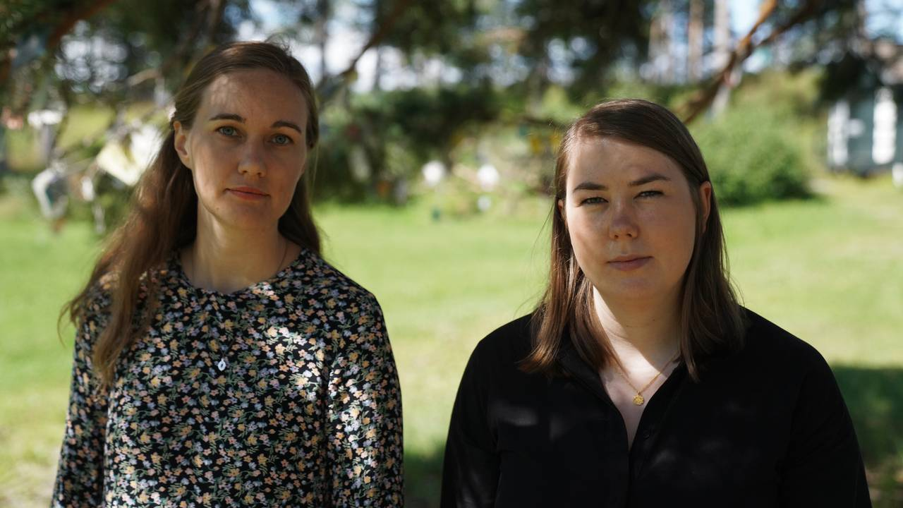 Ina Libak og Astrid Hoem