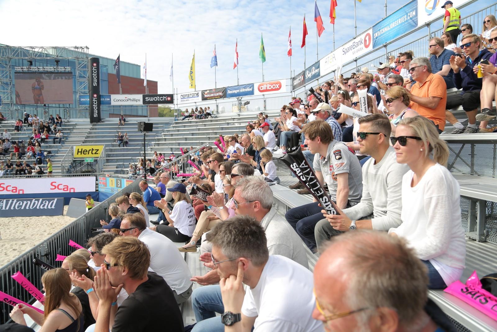 Publikum på Stavanger Major.