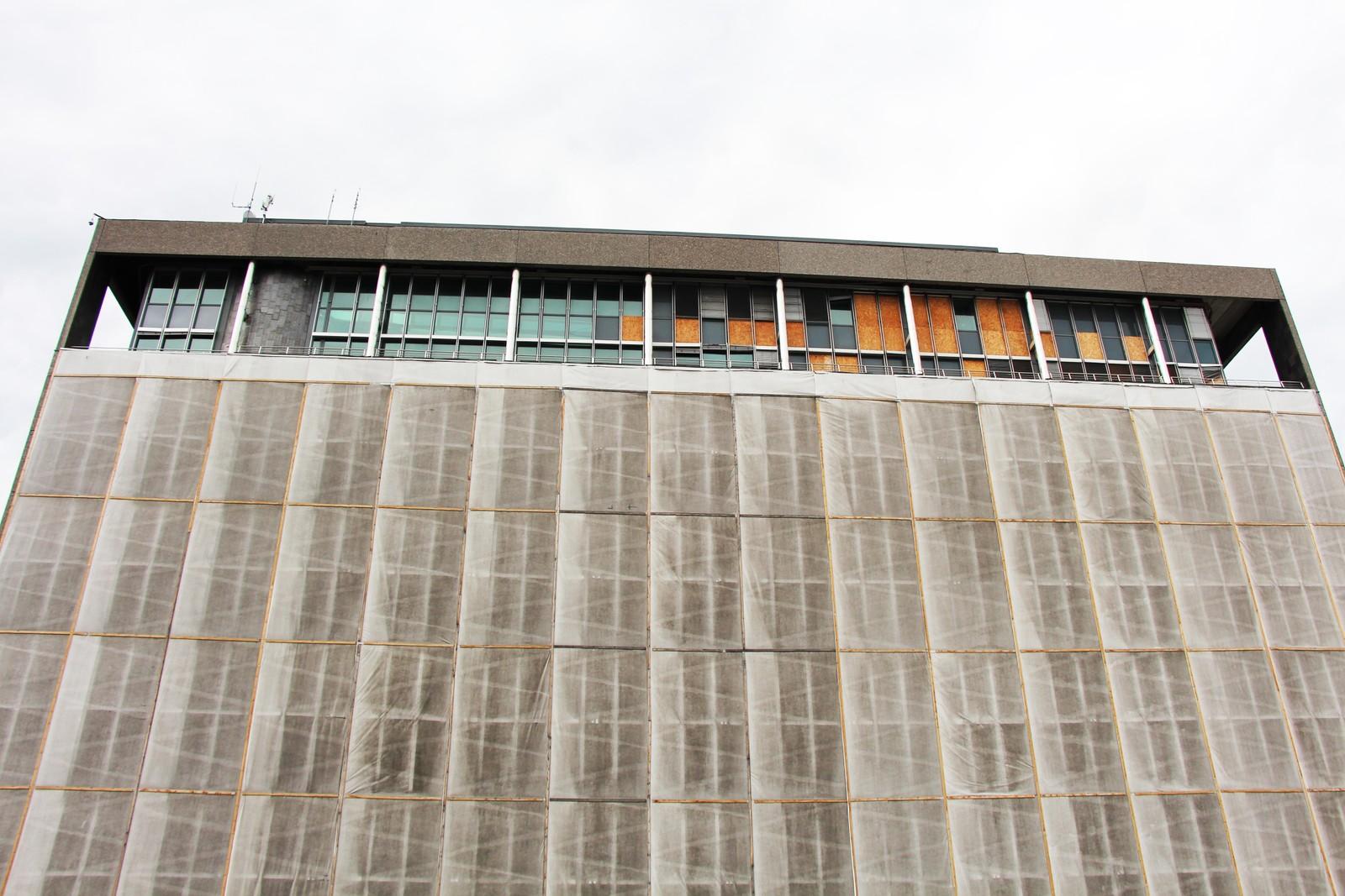 De to øverste etasjene på Høyblokka foreslås revet, og fire nye bygges på. Frist for innspill til reguleringsplanen for nytt regjeringskvartal er 31. oktober 2016.