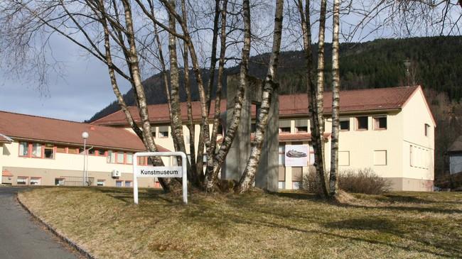 Kunstmuseet på Prestebøen. Foto: Kjell Arvid Stølen, NRK.